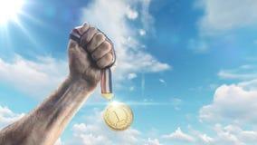 Награда предпосылки анимации графиков движения победы акции видеоматериалы