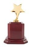 Награда звезды золота Стоковые Изображения
