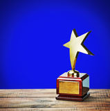 Награда звезды Стоковое фото RF