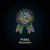 Награда - иллюстрация пиксела Стоковое Фото