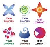 награда логоса компании Стоковое Изображение RF