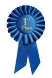 наградите первому месту золотой медали призовой победителя трофея Стоковое Фото