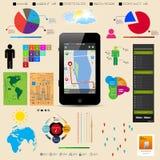 Наградное собрание мастера infographics иллюстрация вектора