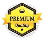 Наградной качественный значок Ecommerce Стоковые Изображения RF