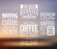Наградной качественный кофе Стоковое Изображение