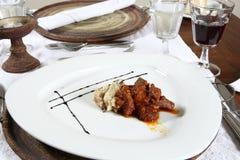 нагревательная плита еды Стоковые Изображения RF