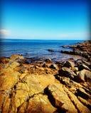 нагруженный ветерком топливозаправщик моря масла Стоковая Фотография