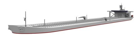 Нагруженный серый цвет нефтяного танкера бесплатная иллюстрация