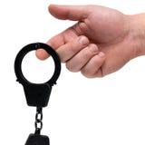 надевает наручники представление Стоковые Изображения RF
