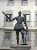 наденьте статую giovanni juan стоковое фото