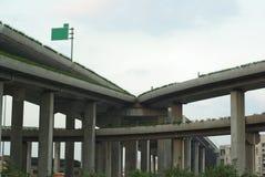 надземная дорога Стоковая Фотография