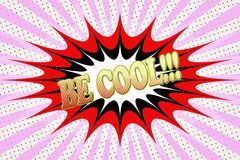 ` Надписи холодно!!! ` в стиле шаржа иллюстрация штока
