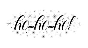 Надпись зимы handlettering Логотипы и эмблемы зимы для приглашения, поздравительной открытки, футболки, печатей и плакатов Стоковое Изображение RF
