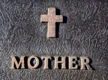 Надпись матери стоковая фотография rf