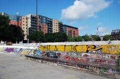 надпись на стенах города Стоковое фото RF