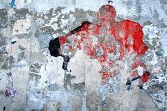 надпись на стенах детали Стоковые Изображения RF