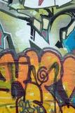 надпись на стенах искусства Стоковые Фото