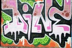 надпись на стенах искусства Стоковые Изображения