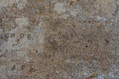 Надпись на стенах камбуза Стоковые Изображения
