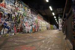 надпись на стенах подземная Стоковые Изображения