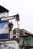 надпись на стенах 02 bangkok Стоковое Изображение RF