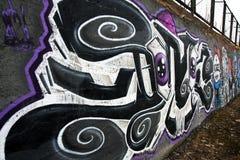 надпись на стенах Стоковые Фото