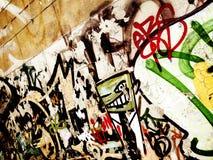 надпись на стенах Стоковые Изображения RF