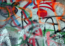 надпись на стенах Стоковое фото RF