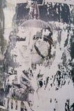 надпись на стенах стоковая фотография