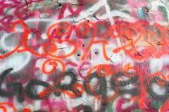 надпись на стенах 3 Стоковые Изображения RF