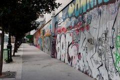 надпись на стенах paris s Стоковое Изображение RF