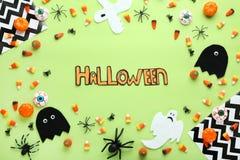 надпись halloween стоковая фотография