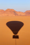 над вадями рома Иордана пустыни Стоковые Изображения