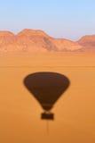 над вадями рома ландшафта пустыни Стоковое Фото