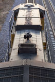 над вертикалью поезда двигателя Стоковая Фотография RF
