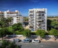 над взглядом Испании города cambrils Стоковое Изображение