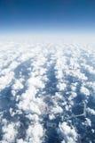 над взглядом облаков стоковые фотографии rf
