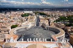 над взглядом vatican стоковые изображения