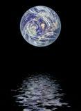 над водой планеты земли Стоковая Фотография
