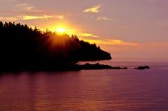 над восходом солнца лопаткоулавливателя пункта стоковые фото
