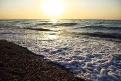 над восходом солнца моря Стоковое фото RF