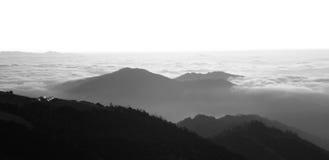 над восходом солнца himalayans облаков вечный Стоковая Фотография RF