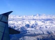 над Гималаями стоковое изображение