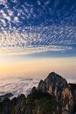 над горами облаков Стоковые Фото