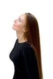 над детенышами белой женщины Стоковые Фотографии RF
