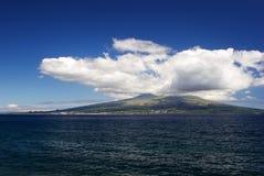 над морем pico, котор нужно осмотреть Стоковые Фото
