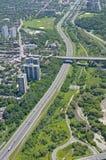 над наденьте долину toronto parkway стоковое изображение