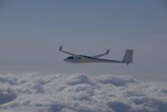 над облаками высоко витая Стоковое Изображение RF