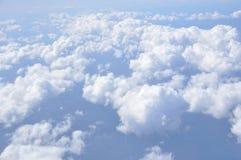 Над облаком в небе стоковая фотография