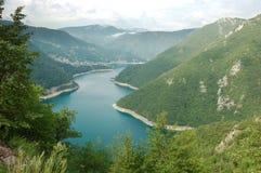 над озером стоковое изображение